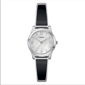 Timex Women's Stretch Bangle Stainless Steel Watch